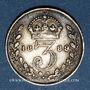 Coins Grande Bretagne. Victoria (1837-1901). 3 pence 1889