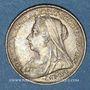 Coins Grande Bretagne. Victoria (1837-1901). 3 pence 1900