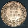 Coins Grande Bretagne. Victoria (1837-1901). 6 pence 1889