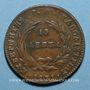 Coins Grèce. Jean Capo d'Istria (1828-1831). 10 lepta 1831