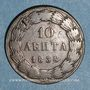 Coins Grèce. Otto (Othon I) (1832-1862). 10 lepta 1838