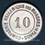 Coins Grèce. Paros. Compagnie Hellénique des Marbres de Paros, 10