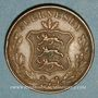 Coins Guernesey. Victoria (1837-1901). 8 doubles 1858