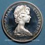 Coins Ile de Man. Elisabeth II (1952- ). 1 couronne 1977