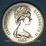 Coins Ile de Man. Elisabeth II (1952-). 1 couronne 1984. College of Arms