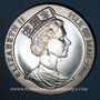 Coins Ile de Man. Elisabeth II (1952- ). 1 couronne 1988. Bicentenaire de l'Australie