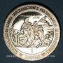 Coins Ile de Man. Elisabeth II (1952- ). 1 couronne 1989. Washington traversant le Delaware