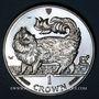 Coins Ile de Man. Elisabeth II (1952- ). 1 couronne 1993