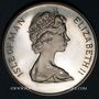 Coins Ile de Man. Elisabeth II (1952- ). 1 couronne argent 1967. Jubilé d'argent