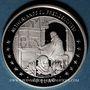 Coins Ile de Man. Elisabeth II (1952- ).10 euro 1997 argent. Présidence des Pays Bas de la C.E.E pour 2007