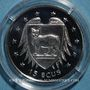 Coins Ile de Man. Elisabeth II (1952- ). 15 écu 1994 (PTL 925/1000. 10 g)