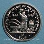 Coins Ile de Man. Elisabeth II (1952- ). 15 écu 1995. (PTL 925/1000. 10 g)