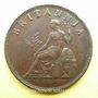 Coins Iles Ioniennes. Administration britannique (1809-1853). Obole 1819
