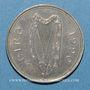 Coins Irlande. République. 1 punt 1990