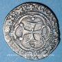 Coins Italie. Gênes. Valérand de Luxembourg (1397), gouverneur pour Charles VI. Soldino