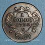 Coins Italie. Gorize. François II d'Autriche (1792-1804). 1 soldo 1799H. Nagybanya