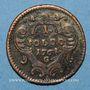 Coins Italie. Gorize. Joseph II (1780-1790). 1 soldo 1762G. Günzbourg
