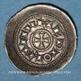 Coins Italie. Milan. Monnayage communal au nom de Henri (1152-1198). Denier