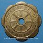 Coins Italie. Milan. Tramway. Jeton pour 1 parcours 1920