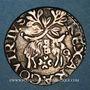 Coins Italie. Naples et Sicile. Charles Quint (1516-1556). Carlino. Naples