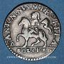 Coins Italie. Plaisance. François Fornese (1694-1727). 10 soldi n. d.