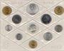 Coins Italie. République (1946- /). Série FDC 1980