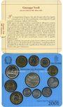 Coins Italie. République (1946- /). Série FDC 2001. 100e anniversaire de la mort de Verdi