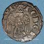 Coins Italie. République de Pise. Monnayage au nom de Frédéric II (1313-1494). Quattrino