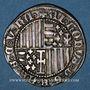 Coins Italie. Royaume de Naples. Alphonse d'Aragon (1422-1458). Carlin