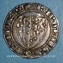 Coins Italie. Royaume de Naples. Charles I d'Anjou (1266-1285). Salut d'argent. Naples