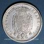 Coins Italie. Royaume de Naples et Deux Siciles. Ferdinand I (1816-1825). 120 grana ou piastre 1818