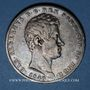 Coins Italie. Sardaigne. Charles Albert (1831-1849). 5 lires 1840P Gênes