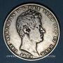 Coins Italie. Sardaigne. Charles Albert (1831-1849). 5 lires 1844P Turin