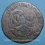 Coins Italie Savoie Charles Emmanuel II, régence de Marie Christine de France (1638-48) 5 soldi 1648 Turin