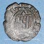 Coins Italie. Sicile. La couronne d'Aragon. Alphonse d'Aragon (1416-1458). Denier