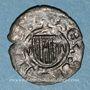 Coins Italie. Sicile. La couronne d'Aragon. Jean d'Aragon (1458-1479). Denier. Messine