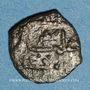 Coins Italie. Sicile. Les Normands. Guillaume I (1154-1166). Fraction de dirham. 553 ou 554H