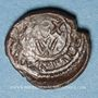 Coins Italie. Sicile. Les Normands. Guillaume II (1166-1189). Follaro concave. Messine