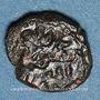 Coins Italie. Sicile. Les Normands. Guillaume II (1166-1189). Fraction de dirham. Palerme