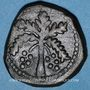 Coins Italie. Sicile. Les Normands. Guillaume II (1166-1189). Trifollaro n. d.