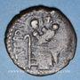 Coins Italie. Sicile. Les Normands. Roger I de Hauteville, comte (1062-1101). Trifollaro, Milet ou Messine