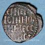 Coins Italie. Sicile. Les Normands. Roger II (1105-1154). Follaro (Messine)