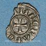 Coins Italie. Sicile. Les Suèves. Henri VI (1194-97) et Constance. Demi-denier