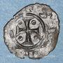 Coins Italie. Sicile. Les Suèves. Manfred (1258-1266). Denier. Manfredoine
