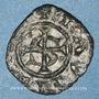 Coins Italie. Sicile. Les Suèves. Manfred (1258-1266). Denier. Messine