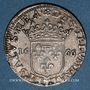Coins Italie. Tassarolo. Livia Centurioni Oltremarini (+ 1688). 1/12 écu (luigino) 1666/58. Var. inédite !