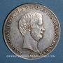 Coins Italie. Toscane. Léopold II (1824-1848 ; 1849-1859). Francescone (= 10 paoli) 1846. Florence