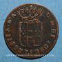 Coins Italie. Toscane. Léopold II (1824-1848 ; 1849-1859). Quattrino 1854