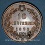 Coins Italie. Umberto I (1878-1900). 10 centesimi 1893 B/I