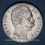 Coins Italie. Umberto I (1878-1900). 5 lires 1879 R. Rome